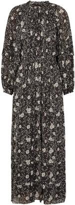 Etoile Isabel Marant Estine floral-print chiffon maxi dress
