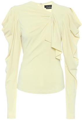 Isabel Marant Gillian crApe top