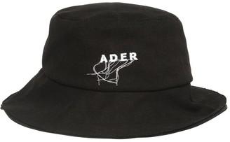 Ader Error Logo Stitch Cotton Canvas Bucket Cap
