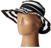 San Diego Hat Company RBL4792 Crossback Striped Ribbon Hat