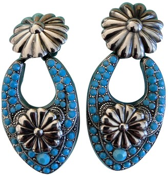 Reminiscence Turquoise Silver Earrings