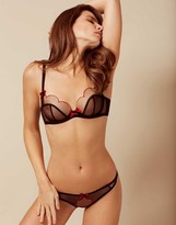Agent Provocateur *Exclusive* Lorna Bra Black and Red