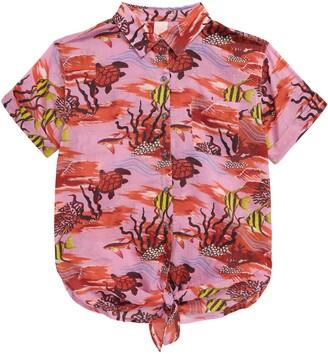 Scotch R'Belle Tie Front Shirt