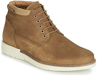 Schmoove BREAK-MID men's Mid Boots in Brown