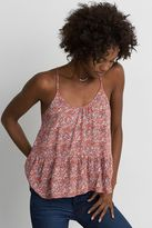 American Eagle Outfitters AE Racerback Peplum Cami