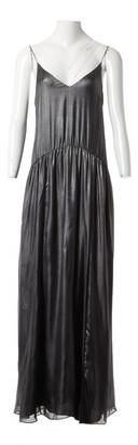 Jill Stuart Silver Silk Dresses