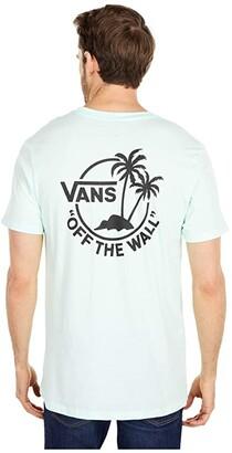Vans Mini Dual Palm II Tee (Bay) Men's Clothing