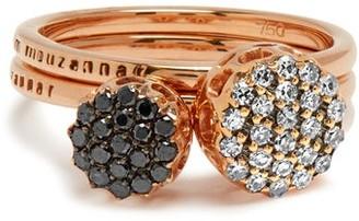 Selim Mouzannar Diamond & Pink-gold Beirut Rings - Pink Gold