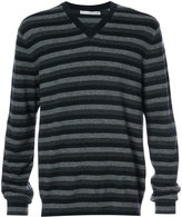 Vince striped cashmere jumper