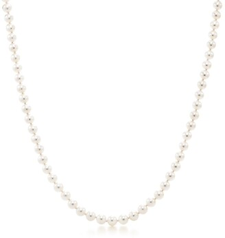 Tiffany & Co. Essential Pearls necklace of Akoya pearls with an 18ct white gold clasp
