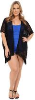 Becca by Rebecca Virtue Plus Size Becca ETC Venise Kimono Cover-Up
