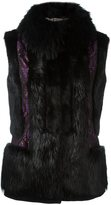 Etro high neck sleeveless jacket