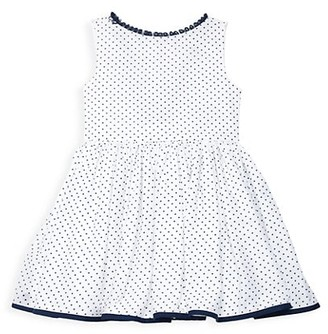 Isabel Garreton Little Girl's & Girl's Dotted Ruffle Dress