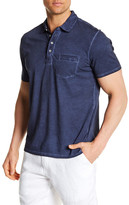 Toscano Short Sleeve Polo With Pocket
