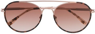 Lacoste Aviator-Frame Sunglasses