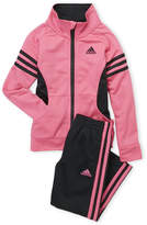 adidas Toddler Girls) Two-Piece Tricot Jacket & Track Pants Set