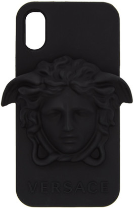 Versace Black Medusa iPhone X Case