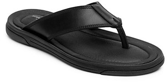 Kenneth Cole Yard Leather Thong Sandals