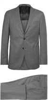 Hugo Boss - Grey Nolton Slim-fit Virgin Wool Suit