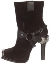 Gianmarco Lorenzi Harness Ankle Boots