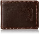Levi's Men's Wallet with Military Key Fob