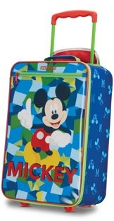 American Tourister Disney Mickey Mouse 18'' Softside Kids Carry-on Luggage