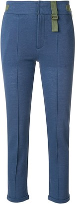 Mr & Mrs Italy Slim Cropped Trousers