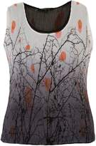 House of Fraser Chesca Reversible Printed Crush Pleat Camisole