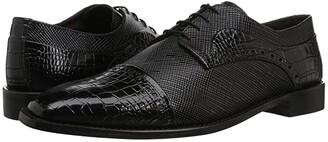 Stacy Adams Rodrigo Cap Toe Oxford (Black) Men's Shoes