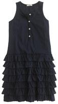 J.Crew Girls' henley ruffle dress