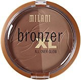 Milani Bronzer XL All Over Glow, Bronze Glow 0.42 oz (Pack of 2)