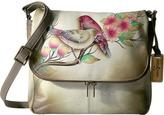 Anuschka 585 Zip Around Organizer Satchel Handbags