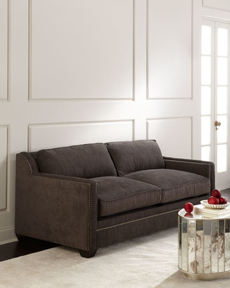 Old Hickory Tannery Flint Queen Sleeper Sofa