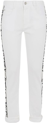 Stella McCartney Side Logo Print Jeans