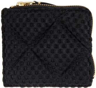 Comme des Garçons Wallets Black NT Half-Zip Wallet