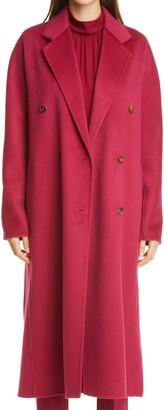 Lafayette 148 New York Jasper Brushed Double Face Cashmere Coat