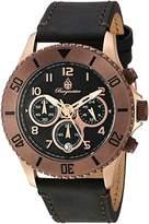 Burgmeister Women's Quartz Stainless Steel Casual Watch, Color:Black (Model: BM532-922-1)