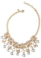 J.Crew Icy Crystal Drop Necklace