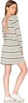Chaser Cross Back Mini Dress