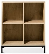 Threshold Darley 4 Cube Bookcase - Vintage Oak