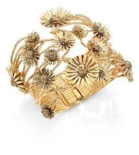 Aurelie Bidermann Athina Floral Cuff Bracelet