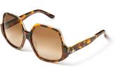 Vivienne Westwood Tortoiseshell Reversed Frame Sunglasses VW50105