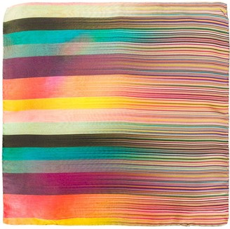 Paul Smith Signature Striped Pattern Scarf