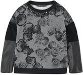 Miss Blumarine Fleece sweatshirt