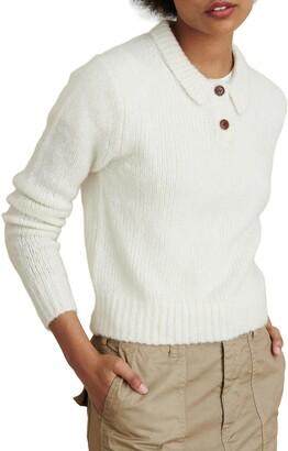 Alex Mill Wool & Cashmere Blend Henley Sweater