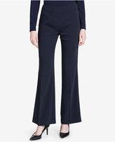 Calvin Klein Flared Pinstripe Pants