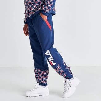 Fila Men's Van Sant Colorblock Woven Jogger Pants