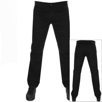 Boss Casual BOSS Maine Regular Fit Jeans Black