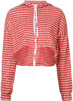 Rosie Assoulin check cropped jacket - women - Cotton/Polyamide/Polyester - S