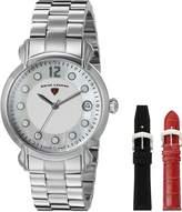 Swiss Legend Women's 16592SM-02-SET Layla Analog Display Swiss Quartz Silver Watch